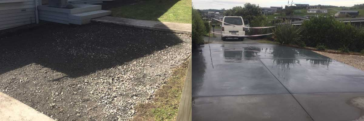 All Concrete Laying - Driveway to Kerb